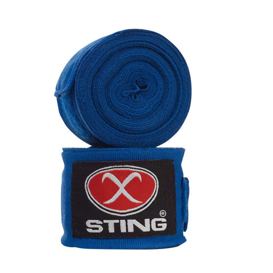 Sting Elasticised Hand Wrap Blue, Blue, rebel_hi-res
