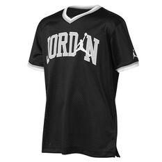 Nike Boys Jordan Jumpman Mesh 23 Tee Black S, Black, rebel_hi-res