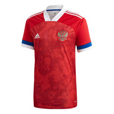 Russia 2020 Mens Home Jersey Red S, Red, rebel_hi-res