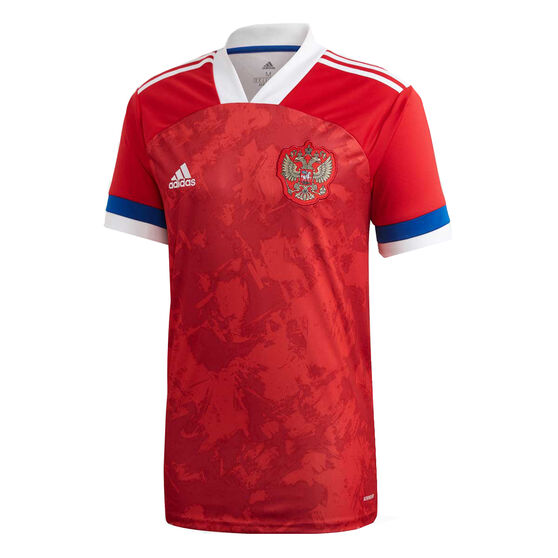 Russia 2020 Mens Home Jersey, Red, rebel_hi-res