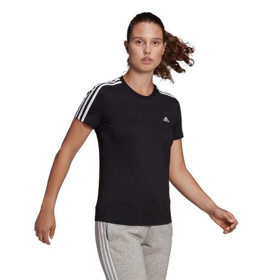 adidas Womens Essentials 3-Stripes Tee, , rebel_hi-res