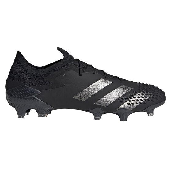adidas Predator 20.1 Low Football Boots, Black, rebel_hi-res