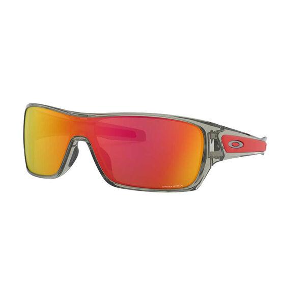 Oakley Turbine Rotor Sunglasses Grey Ink/Prizm Ruby, Grey Ink/Prizm Ruby, rebel_hi-res
