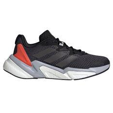 adidas X9000L3 Kids Casual Shoes Black/Red US 4, Black/Red, rebel_hi-res