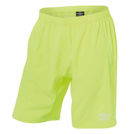 Umbro Goal Keeper Shorts, Yellow, rebel_hi-res