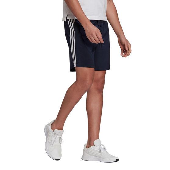 adidas Mens 3-Stripe Chelsea Shorts, Navy, rebel_hi-res