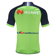Canberra Raiders 2021 Mens Home Jersey, Green, rebel_hi-res
