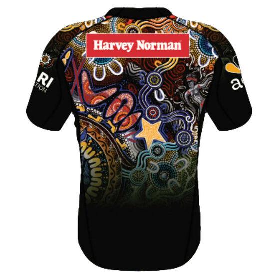 NRL Indigenous All Stars Mens 2021 Jersey Black M, Black, rebel_hi-res
