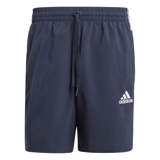 adidas Mens 3-Stripe Chelsea Shorts, Navy, rebel_hi-res