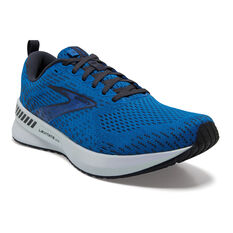 Brooks Levitate GTS 5 Mens Running Shoes, Blue/White, rebel_hi-res
