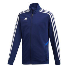 adidas Boys Tiro 19 Training Jacket Blue / White 8, Blue / White, rebel_hi-res