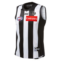Collingwood Magpies 2019 Mens Home Guernsey Black / White S, Black / White, rebel_hi-res