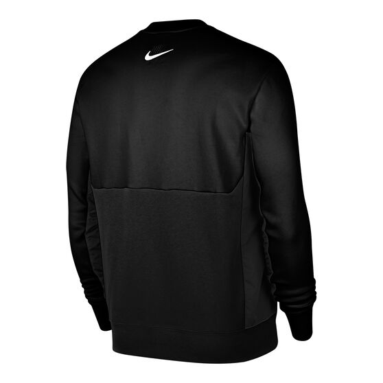 Nike Air Mens Fleece Sweatshirt, Black, rebel_hi-res