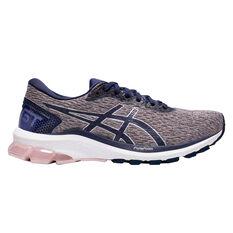 Asics GT 1000 9 D Womens Running Shoes, Pink / Rose Gold, rebel_hi-res