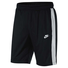 Nike Mens Sportswear Woven Core Track Shorts Black S, Black, rebel_hi-res