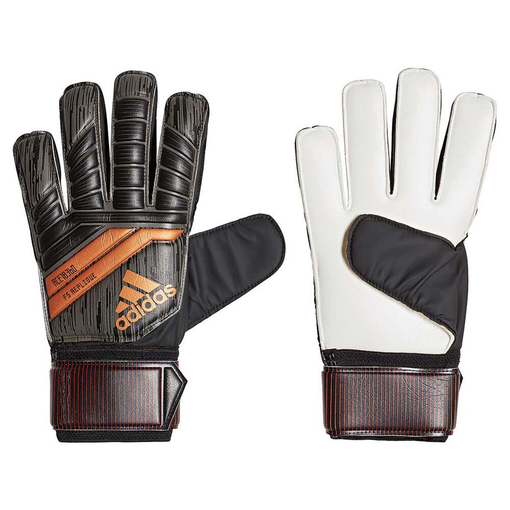 adidas Predator Replique Soccer Goalkeeping Gloves Black   Red 11 ... 6e883566c3