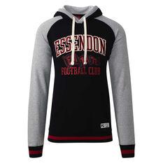 Essendon Bombers Mens Collegiate Pullover Hoodie Red S, Red, rebel_hi-res
