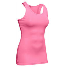 Under Armour Womens Victory Tank Pink XS, Pink, rebel_hi-res