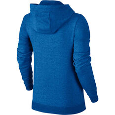Nike Womens Sportswear Fleece Hoodie Blue XS, Blue, rebel_hi-res