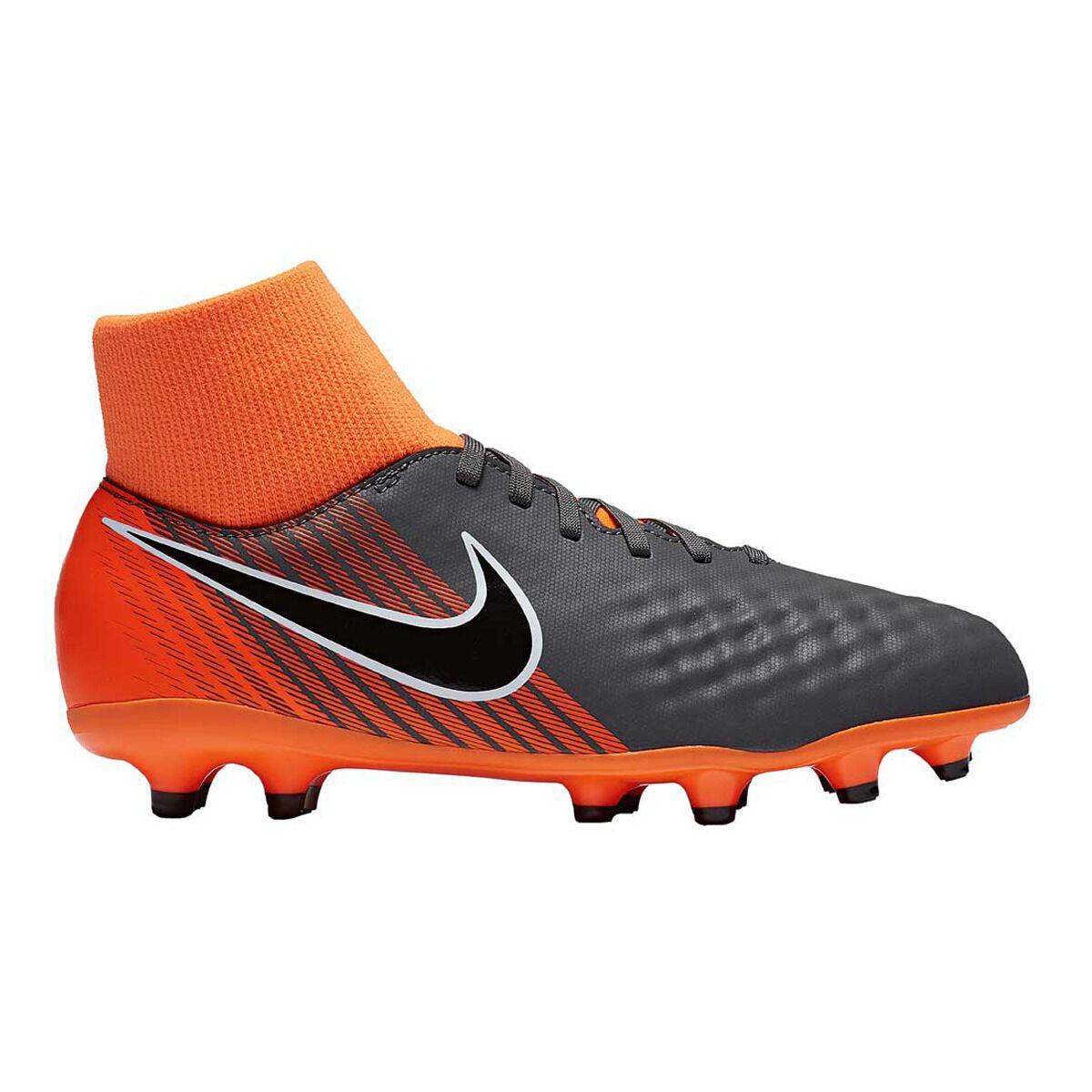 b77eac1c810a ... spain nike magista obra ii academy junior football boots grey orange us  1 junior grey 5495a