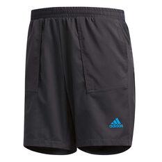 adidas Mens Supernova TKO Light Shorts Grey S, Grey, rebel_hi-res