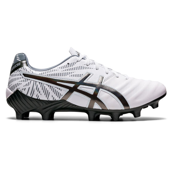 Asics Lethal Tigreor IT FF 2 Football Boots, White/Silver, rebel_hi-res