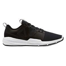 Reebok Hydrorush Mens Training Shoes Black / White US 7, Black / White, rebel_hi-res