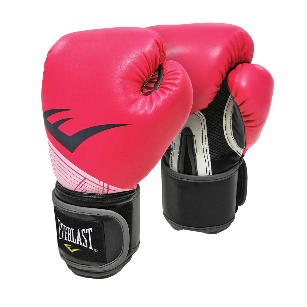 Shiv Naresh Teens Boxing Gloves 12oz: Everlast Pro Style Advanced Training Boxing Gloves Pink