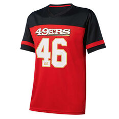 San Francisco 49ers Poly Mesh Tee, , rebel_hi-res