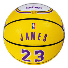 Spalding NBA LeBron James Jersey Basketball, , rebel_hi-res