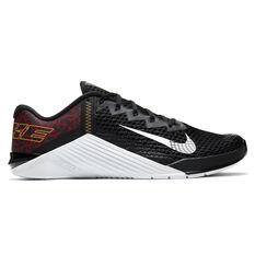 Nike Metcon 6 Mens Training Shoes Black/White US 7, Black/White, rebel_hi-res