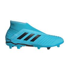 adidas Predator 19.3 Laceless Football Boots Blue / Black US Mens 7 / Womens 8, Blue / Black, rebel_hi-res