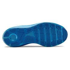 Under Armour Liquify Mens Running Shoes, Black / Blue, rebel_hi-res