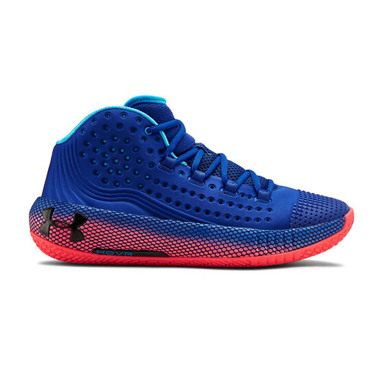 Under Armour HOVR Havoc 2 Mens Basketball Shoes, , rebel_hi-res