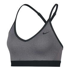 Nike Womens Indy Sports Bra, Grey, rebel_hi-res