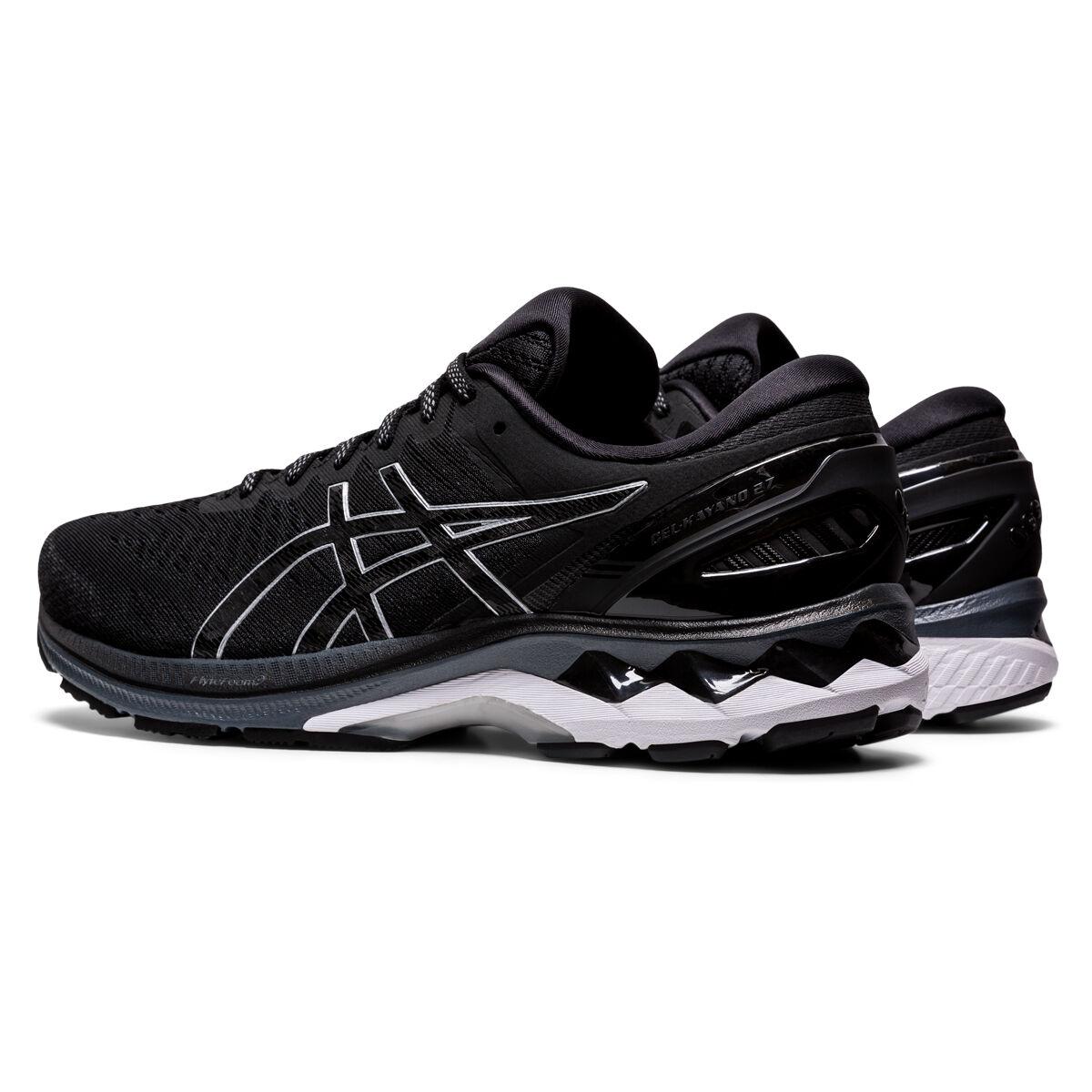 nike blazer retro red swoosh shoes black sneakers | Asics GEL Kayano 27 2E Mens Running Shoes