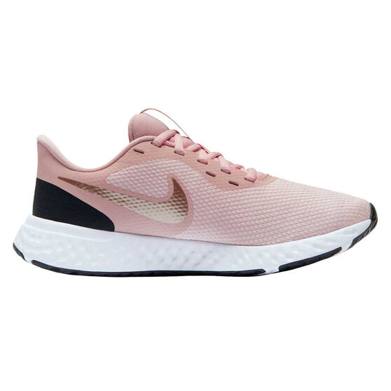 Nike Revolution 5 Womens Running Shoes, Pink / Rose Gold, rebel_hi-res