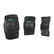 Tahwalhi 3 Piece Safety Pads Black XS, Black, rebel_hi-res