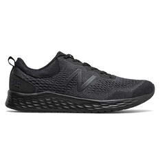 New Balance Fresh Foam Arishiv2 2E Mens Running Shoes Black US 7, Black, rebel_hi-res