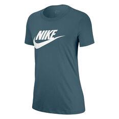 Nike Womens Sportswear Essential Tee, Green, rebel_hi-res