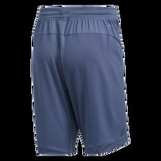 adidas Mens 4KRFT Sport Graphic Badge of Sport Shorts Navy S, Navy, rebel_hi-res