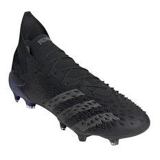 adidas Predator Freak .1 Football Boots, Black/Pink, rebel_hi-res
