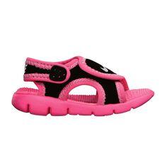 Nike Sunray Adjust 4 Toddlers Sandals Black / Grey US 3, Black / Grey, rebel_hi-res