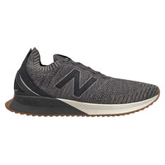 New Balance Echo Mens Running Shoes Grey / Black US 7, Grey / Black, rebel_hi-res