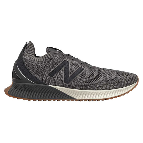 New Balance Echo Mens Running Shoes Grey / Black US 10, Grey / Black, rebel_hi-res