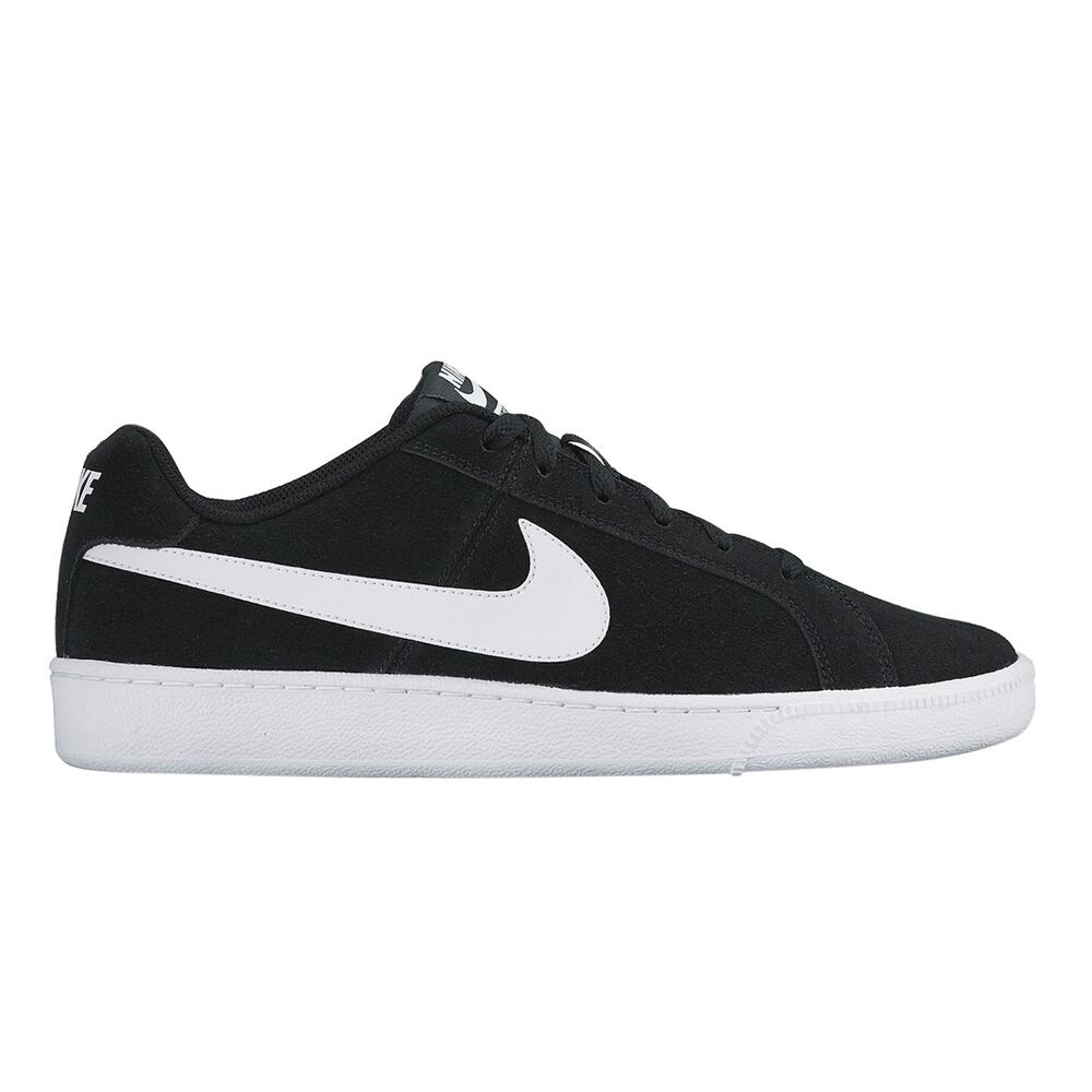 aecc75eab94d14 Nike Court Royale Suede Mens Casual Shoes Black   White US 7