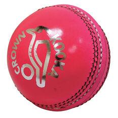 Kookaburra Kooka Crown 156g Senior Cricket Ball White 156g, White, rebel_hi-res