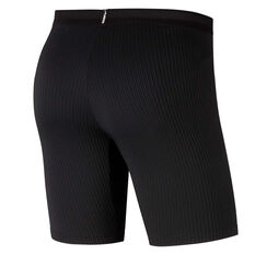 Nike Mens AeroSwift Half Tights Black XS, Black, rebel_hi-res