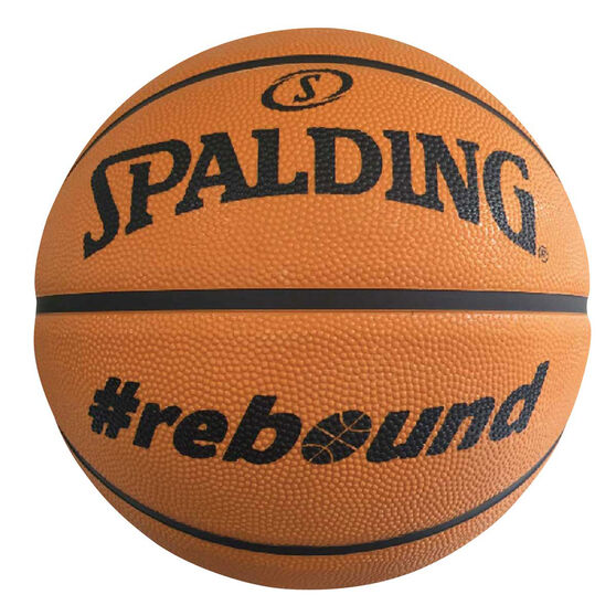 Spalding Rebound Basketball 7, Orange / Black, rebel_hi-res