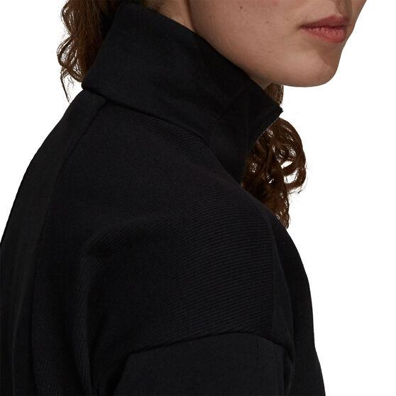 adidas Womens Z.N.E Sportswear Track Jacket, Black, rebel_hi-res